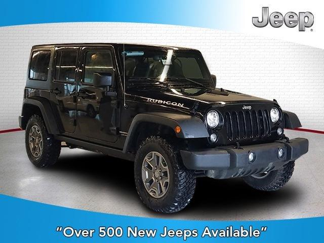 New 2018 Jeep Wrangler Unlimited JK Rubicon 4x4