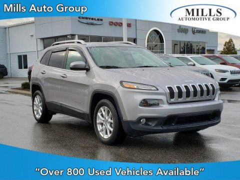 Certified Pre-Owned 2018 Jeep Cherokee Latitude FWD FWD Sport Utility