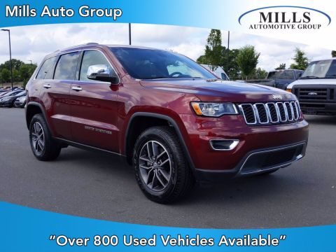 Pre-Owned 2018 Jeep Grand Cherokee Limited With Navigation & 4WD