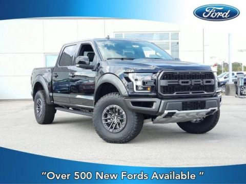New 2019 Ford F-150 Raptor 4WD SuperCrew 5.5' Box