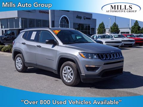Pre-Owned 2018 Jeep Compass Sport FWD Sport Utility