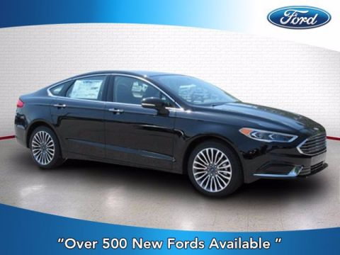 New 2018 Ford Fusion SE With Navigation