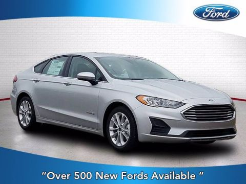 New 2019 Ford Fusion Hybrid SE With Navigation