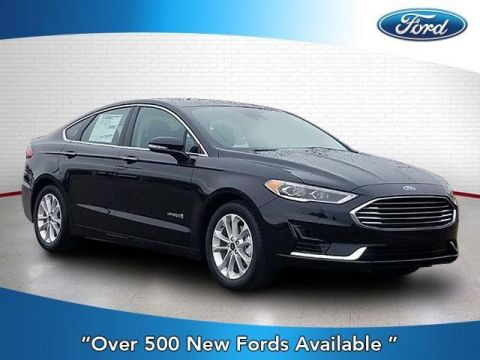 New 2019 Ford Fusion Hybrid SEL FWD With Navigation