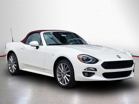 2018 FIAT 124 Spider Lusso Red Top Edition Convertible