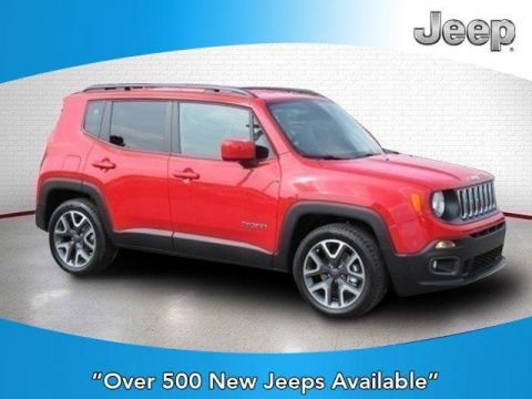 New 2018 Jeep Renegade Latitude FWD FWD Sport Utility