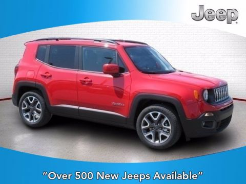 New 2018 Jeep Renegade Latitude FWD Sport Utility
