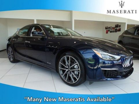 New 2019 Maserati Ghibli S GranLusso 3.0L With Navigation